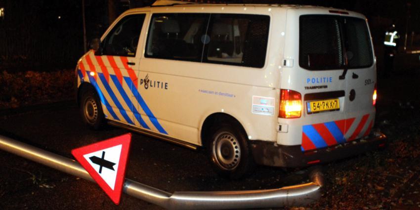 Politieauto betrokken bij aanrijding in Rijen