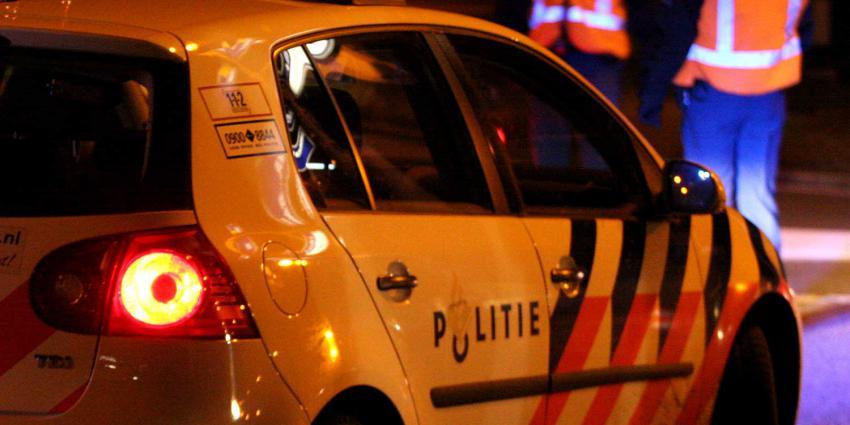 politieauto-donker