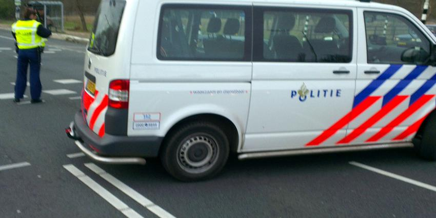 aanrijding politiebus