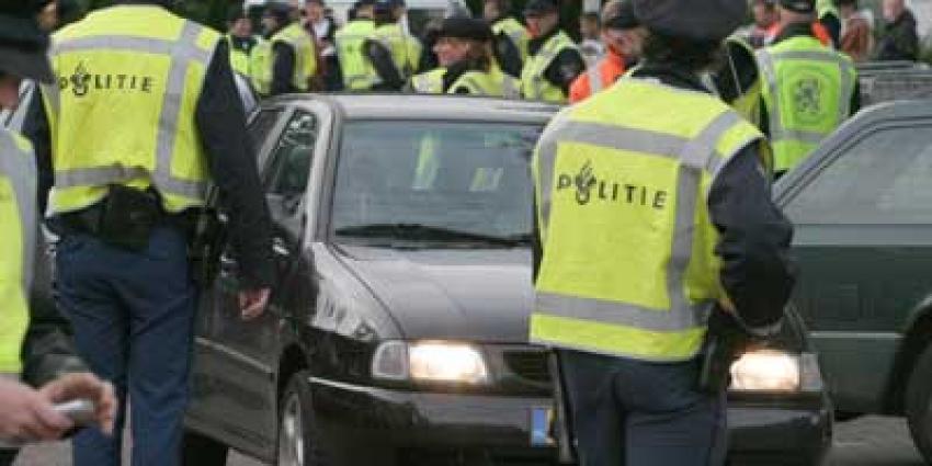 Foto van politiecontrole   Archief EHF