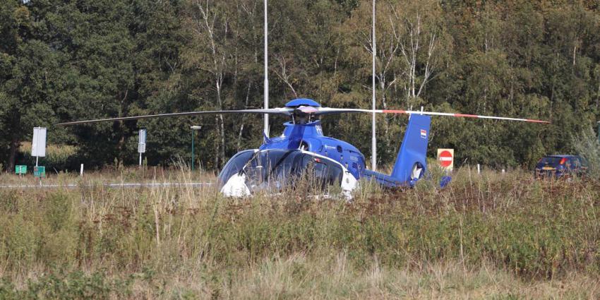 politiehelikopter-geland