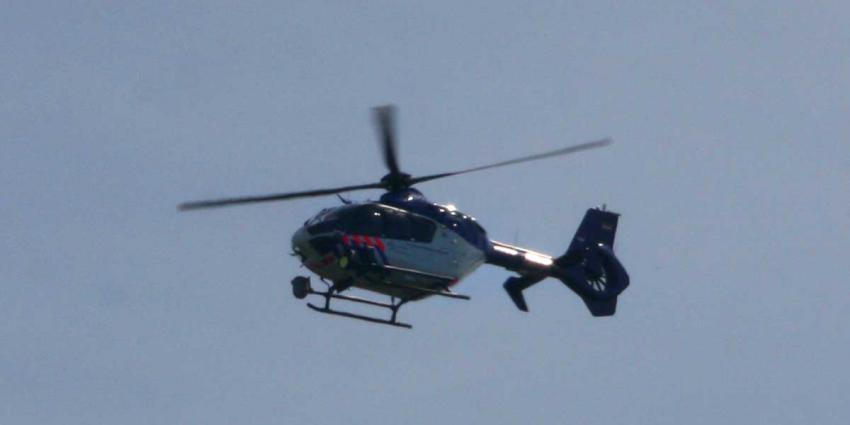 Foto van politiehelikopter