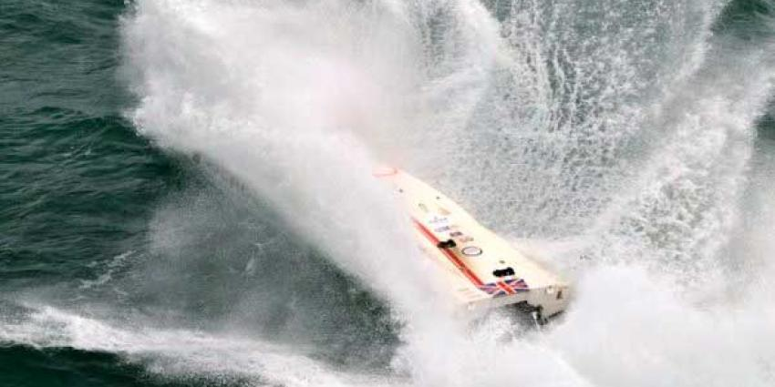 Foto van powerboatracen