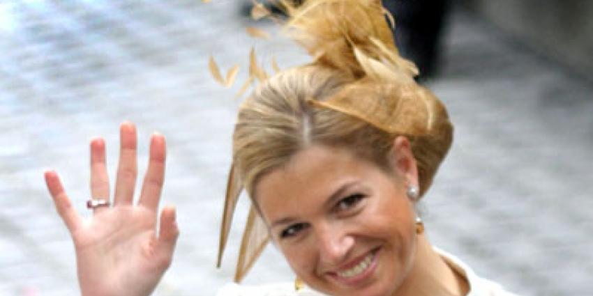 Foto van koningin Maxima   Archief EHF