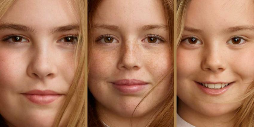 Nieuwe portretfoto's door Erwin Olaf van prinsesjes