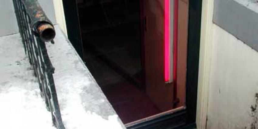 Foto van prostitutie raam red light   Archief EHF