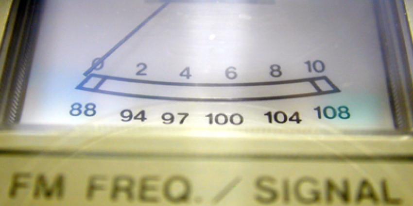 Foto van radio frequentie VU-meter | Archief EHF