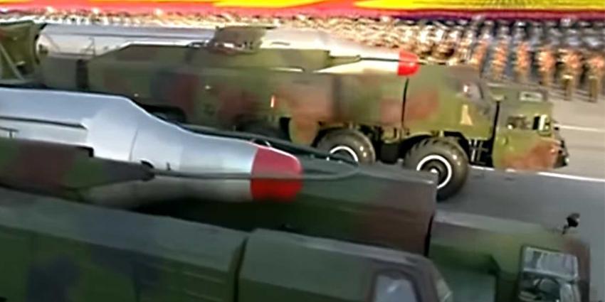 Noord-Korea lanceert raket die direct ontploft