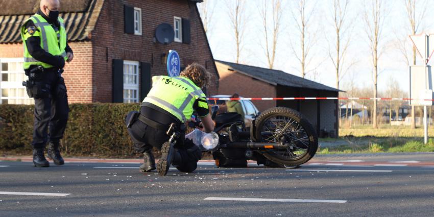Politie onderzoek aanrijding