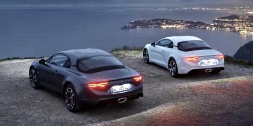 Alpine toont twee nieuwe versies A110 op Autosalon Genève
