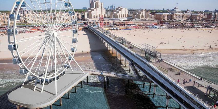 Reuzenrad op Scheveningse Pier geopend