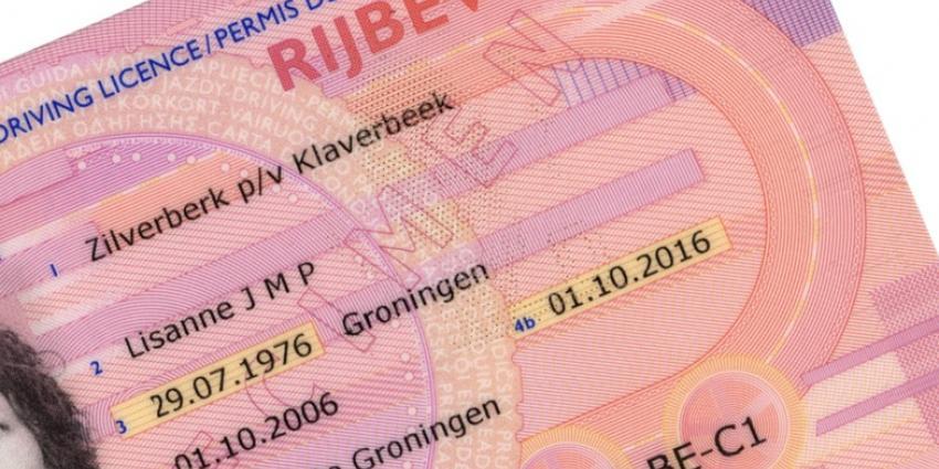 Foto van rijbewijs