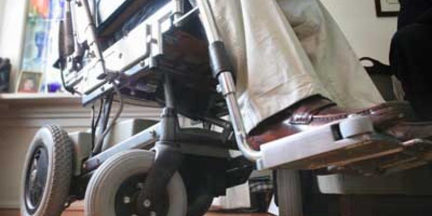 Foto van rolstoel | Archief EHF