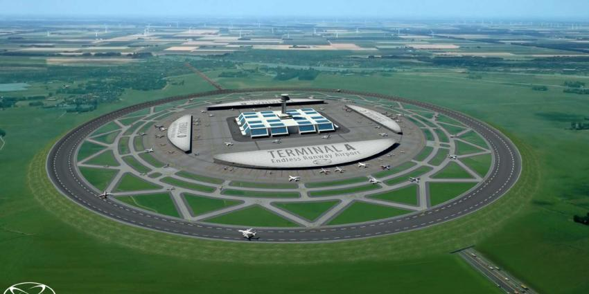 Nederlander bedenkt eindeloze ronde start- en landingsbaan