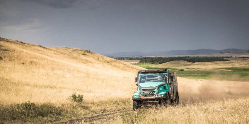 Gerard de Rooy uit de vijfde etappe maar niet uit de Silk Way Rally