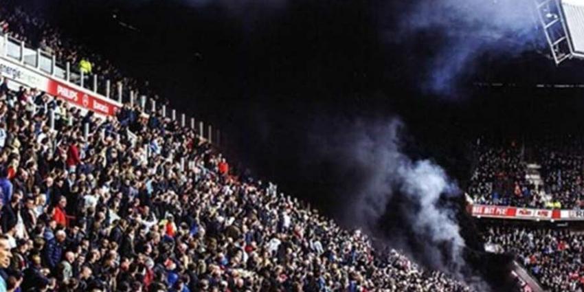 Zes arrestaties in onderzoek rookpotten PSV-stadion