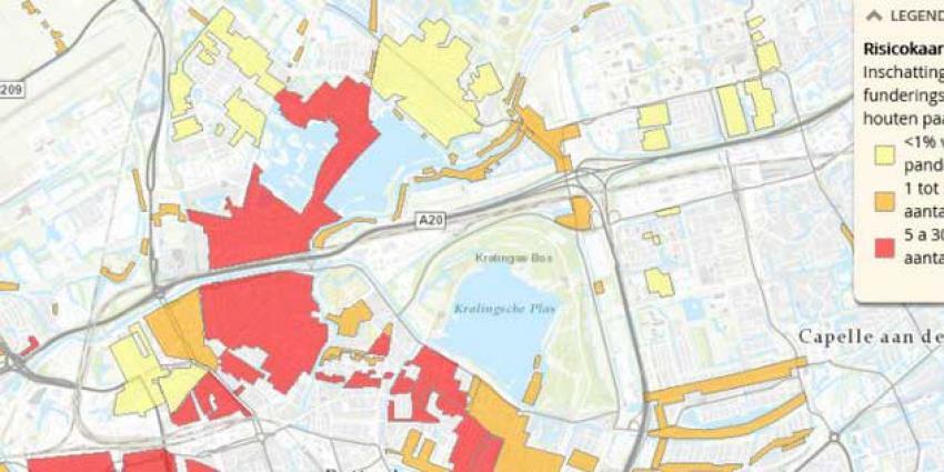 Rotterdam steunt huiseigenaren bij funderingsherstel