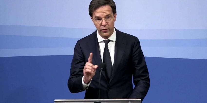 Rutte geeft laatste persconferentie van kabinet-Rutte-Asscher