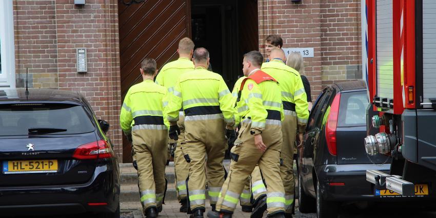 Foto van brandweerlieden