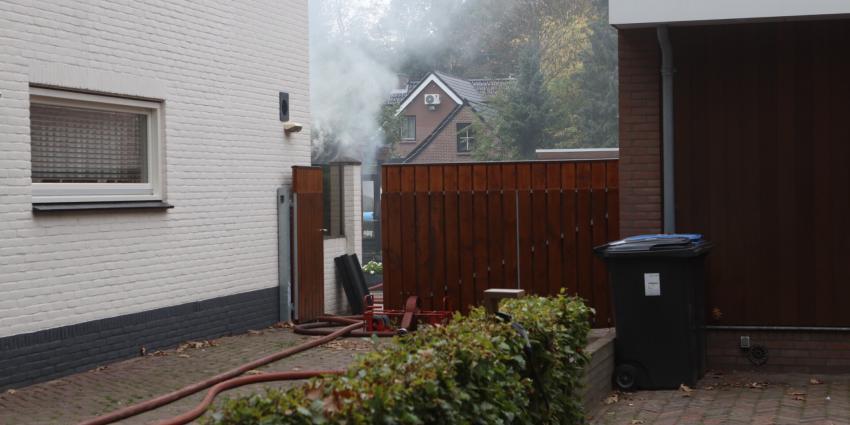 Brand in bijgebouw snel geblust