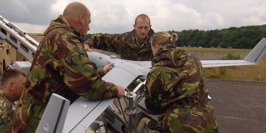 Geavanceerd onbemand vliegtuigje Scan Eagle ingezet bij intocht Nijmeegse Vierdaagse