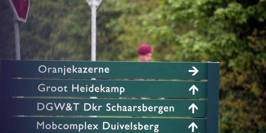 Soldaten eenheid Schaarsbergen misbruikt en mishandeld
