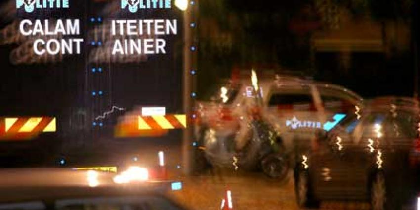 Foto van calamiteitencontainer politie   Archief EHF