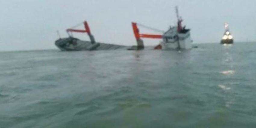 Nederlands vrachtschip gezonken na aanvaring