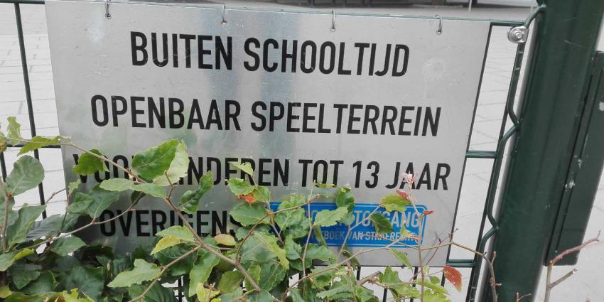 schoolplein-hek-verbod