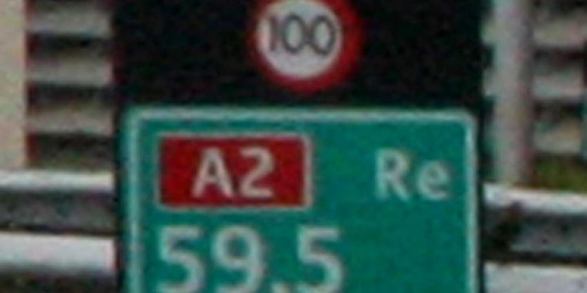 Foto van maximumsnelheid 100 km/h snelweg A2 | Archief EHF