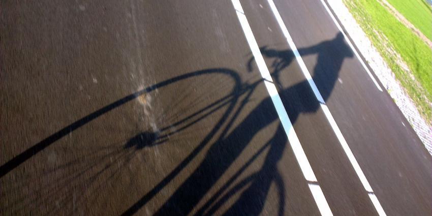 snelweg, fietser