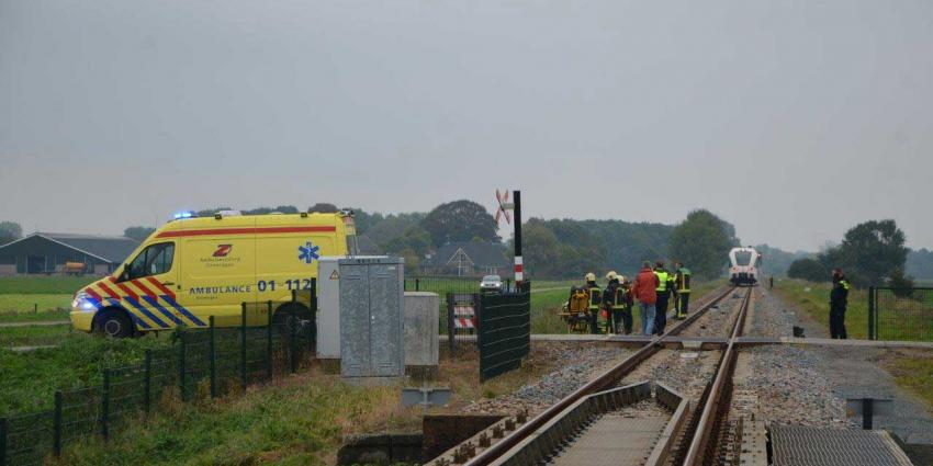 Automobilist (51) omgekomen na aanrijding met trein