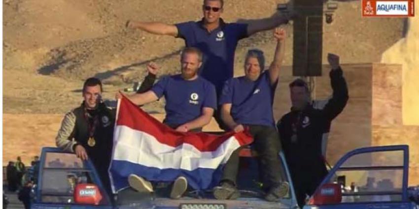Dakar 2020 zit erop. Ook voor Stam en zijn team