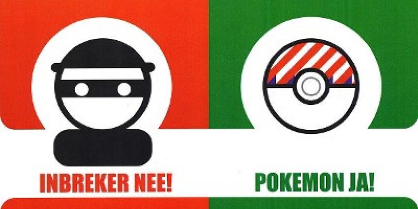 'Pokémon Go-spelers moeten vanaf nu ook echte boeven vangen'