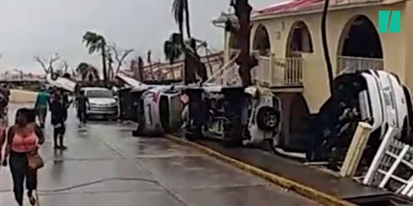 Zeker zes doden op Sint Maarten door Orkaan 'Irma'
