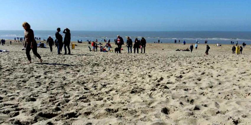 Nederland geniet massaal van lentezonnetje