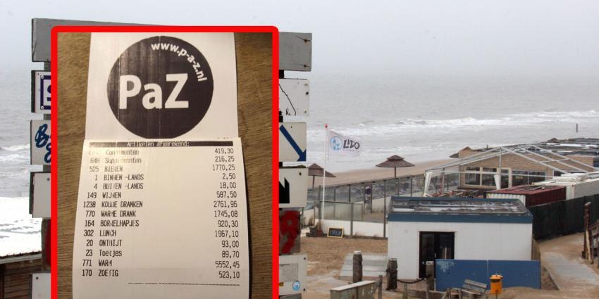 Bloemendaalse strandtent Paranassia doneert 16.666 euro aan de ALS-stichting