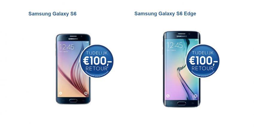 Nieuwe slag in oorlog tussen Samsung en Apple: grote cashback actie op Samsung toestellen