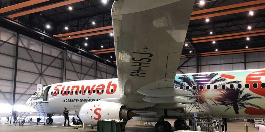 "Sunweb en Transavia dopen vliegtuig; ""Sunweb Express"""