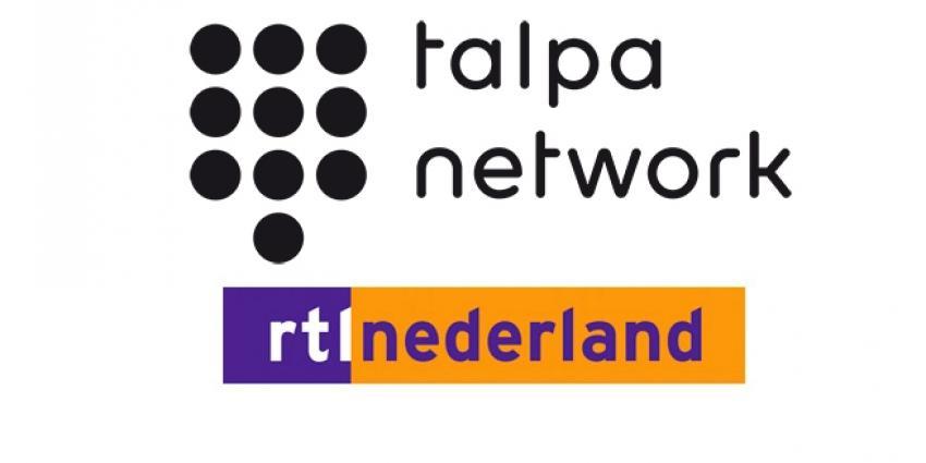 Logo's Talpa en RTL
