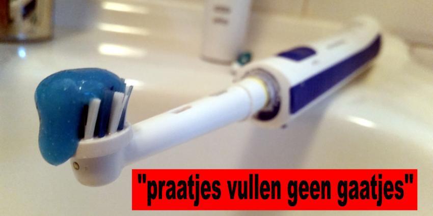 Tandpasta's die tanden witter maken: niets meer dan een marketingtruc