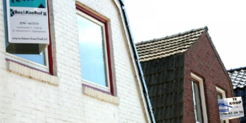 Foto van huizen die te koop staan   MV Blik op Nieuws