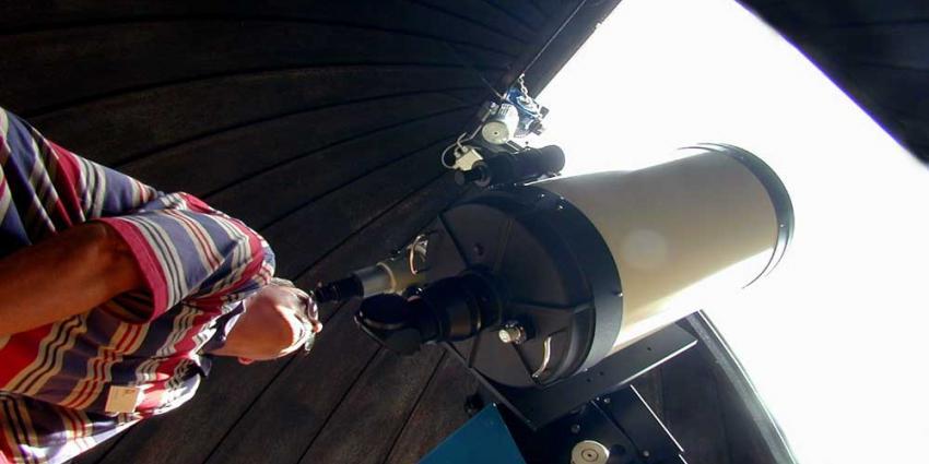 Foto van telescoop | Archief EHF