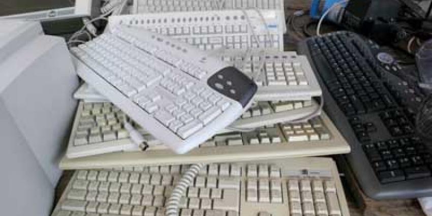 Foto van toetsenborden computers | Archief EHF