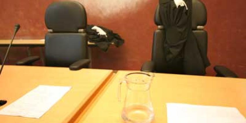 Foto van toga van rechter | Archief EHF