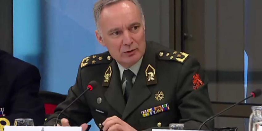 Commandant der Strijdkrachten Tom Middendorp