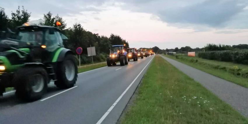 tractoren-optocht-demo