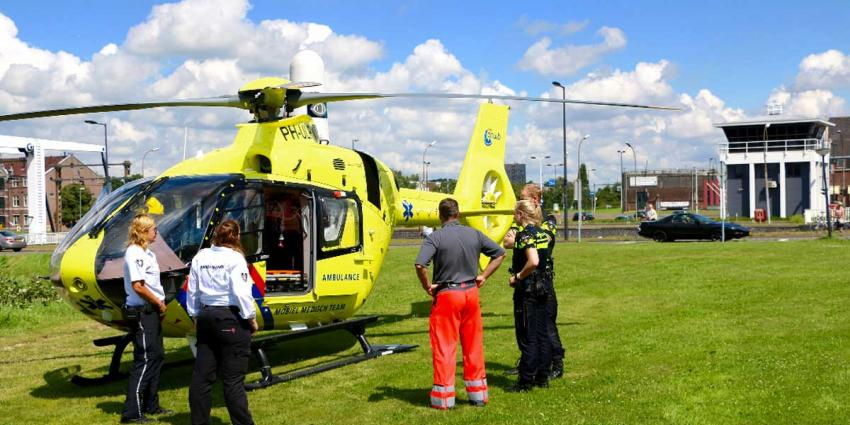Amsterdamse traumaheli assisteert in Vlaardingen