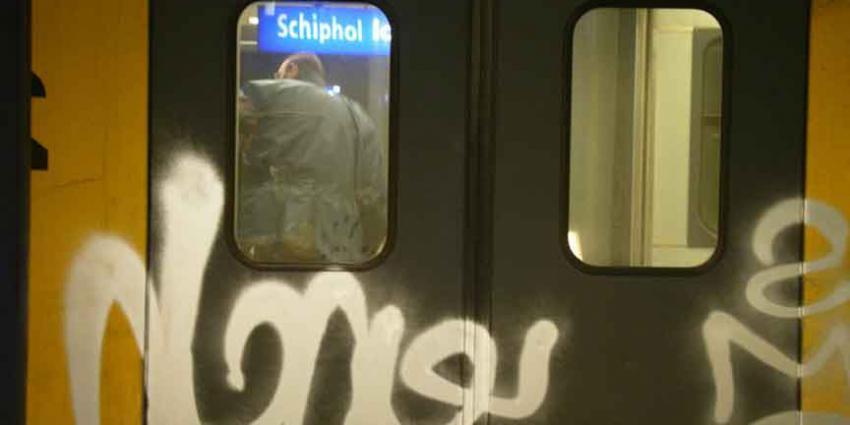 Graffiti kost NS jaarlijks 10 miljoen