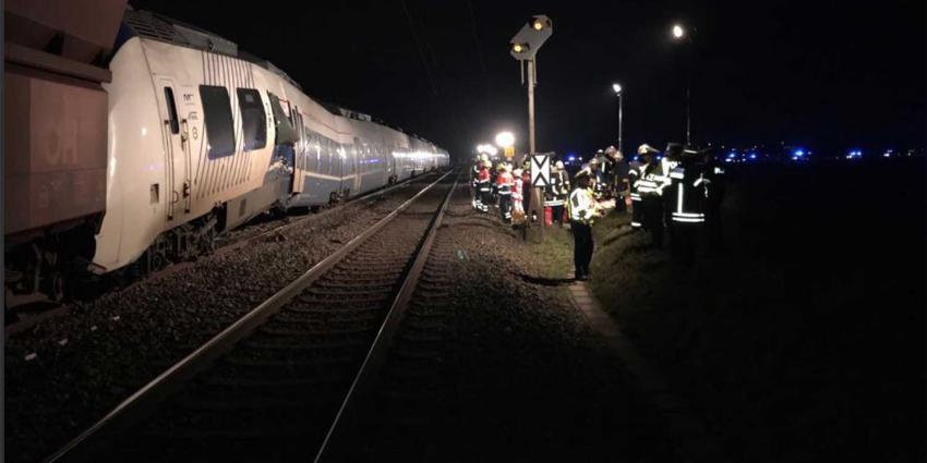 Mogelijk meerdere gewonden bij treinbotsing Duitsland